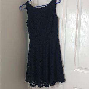 Speechless Navy Lace Dress